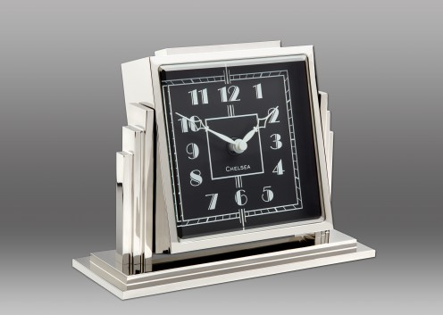 NEW! Athena Clock - Black Dial