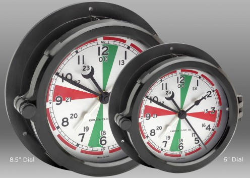 "Radio Room Clock - 8.5"" Dial"
