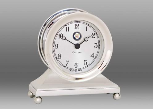 US Navy Constitution Clock in Nickel