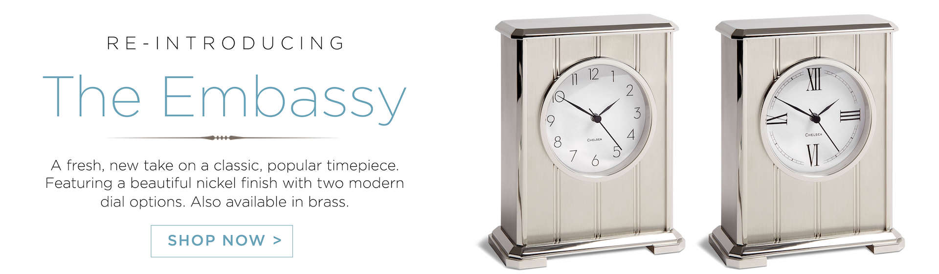 Shop Clocks for the Home and Office | Chelsea Clock
