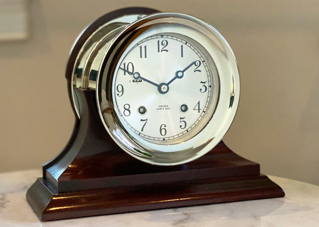 Shop Ship's Bell Clocks