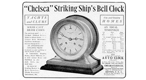 History Of The Chelsea Clock Company Chelsea Clock